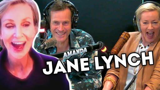 Jonesy & Amanda's Exclusive Chat With Jane Lynch