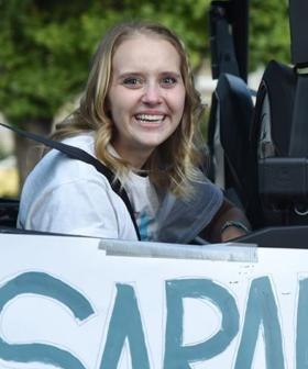 Teen Who Lost Both Legs After Being Hit By Drunk Driver Is Welcomed Home With A Parade