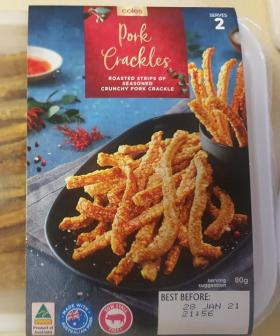 Reviews Are In: The Coles Christmas Pork Crackles Are 'The Best You'll Ever Have'