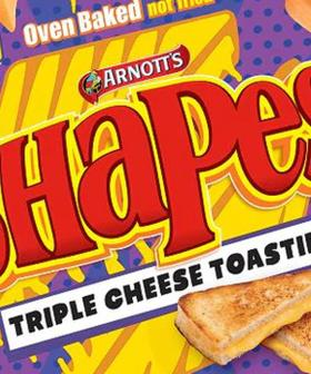 Arnott's Have Released Three New Shapes Flavours Including Triple Cheese Toastie