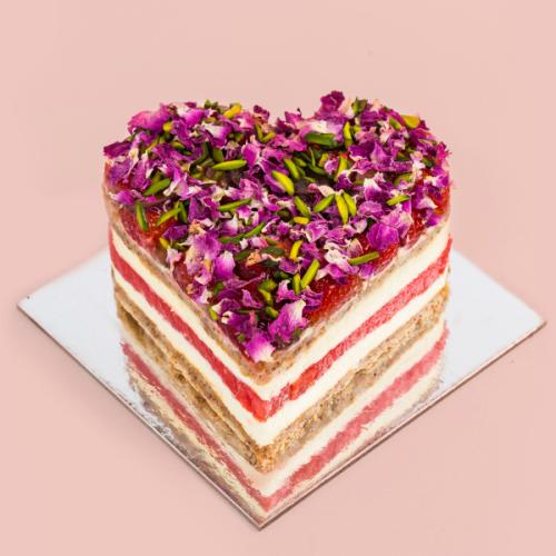 Black Star Pastry Is Doing Heart-Shaped Strawberry Watermelon Cakes For Valentine's Day!