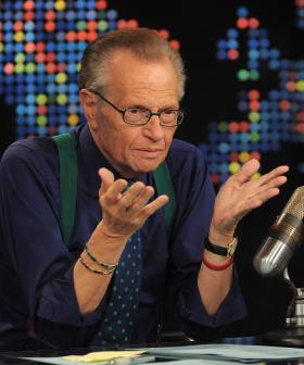 """RIP Larry"": Jonesy & Amanda Pay Tribute To Larry King"