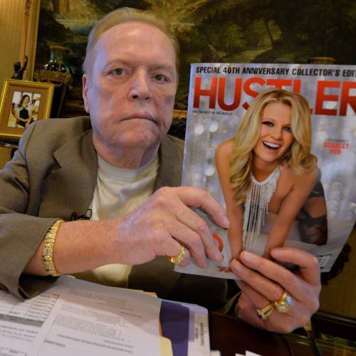 Hustler Publisher Larry Flynt Dead At 78