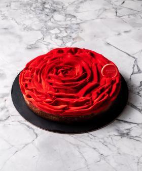 Messina's Rose Shaped Valentines Day 'Tart Breaker' Looks Perfect!