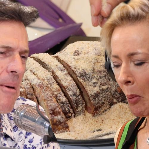 Amanda Keller Makes Her Late Mum's Aberdeen Sausage Live On Air!