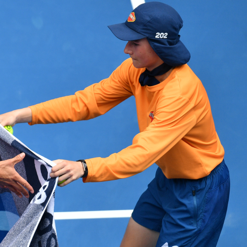 This Is The New Rule Ball Kids Will Have To Follow At This Year's Australian Open