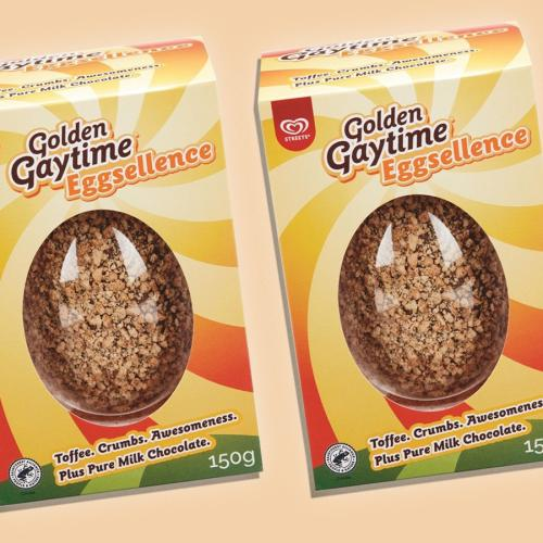 Love The Golden Gaytime? You Can Now Buy A Golden Gaytime Easter Egg!