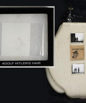 Hitler's TOILET SEAT And HAIR Has Sold For An Unbelievable Amount Of Money