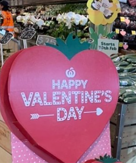 Woolworths Customers In Stitches Over Cheeky Valentine's Day Sign