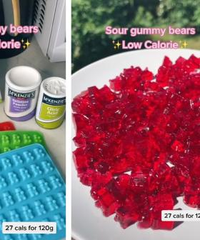 Check Out This Super Easy Low Calorie Sour Gummy Bears Recipe That's Gone Viral Online!