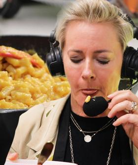 Amanda Keller Tries Flamin' Hot Mac 'n' Cheetos TikTok Hack