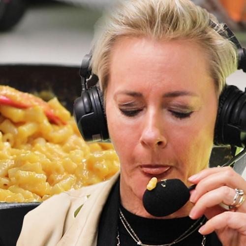 Amanda Keller Tries Flamin' Hot Mac 'n' Cheetos TikTok Hack