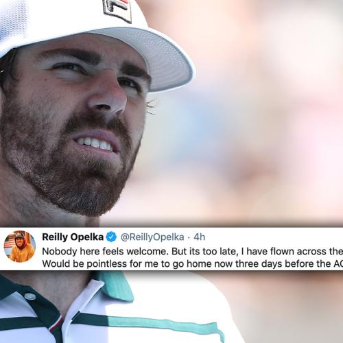 """""""NobodyHereFeelsWelcome"""": American Tennis Player Spits The Dummy Ahead Of Australian Open"""