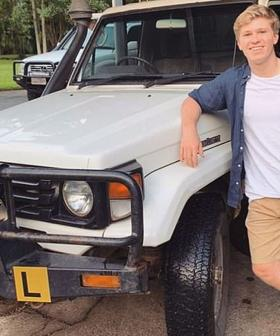 Robert Irwin Is Learning To Drive In His Dad's Old Ute!