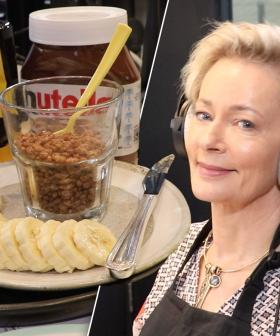 Amanda Keller Makes Us Vegemite Jelly + Nutella With Coco Pops Sandwiches