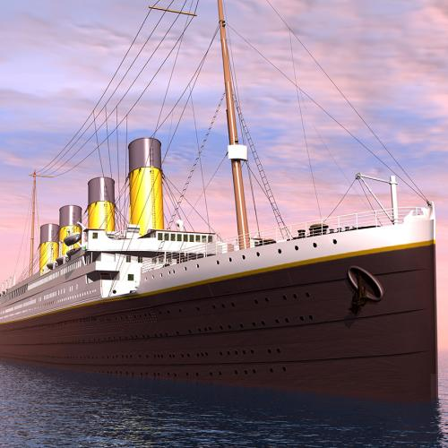 Woman Claims She Got Lost On The Titanic