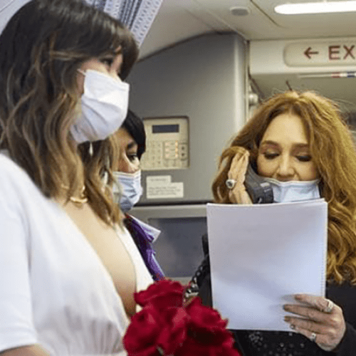 Couple Gets Married On Virgin Flight To Sydney