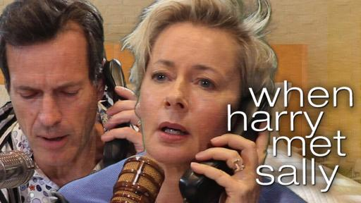 Jonesy & Amanda Star In 'When Harry Met Sally'