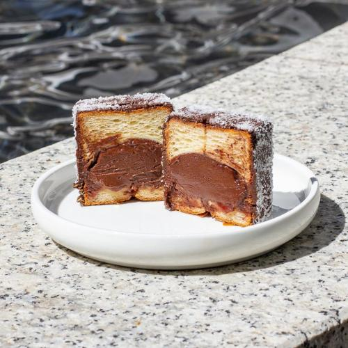 Ever Tried A Cube Shaped Lamington Croissant? This Sydney Cafe's Got You Covered!