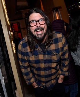 Book Event Goes Right Off When Dave Grohl Drums To Nirvana's 'Smells Like Teen Spirit'