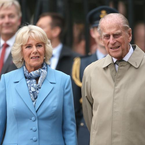 "Camilla Reveals That Prince Philip's ""Slightly Improving"" But His Treatment ""Hurts"""