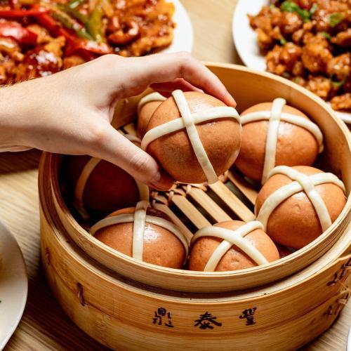 Din Tai Fung Are Now Doing Hot Cross Baos!