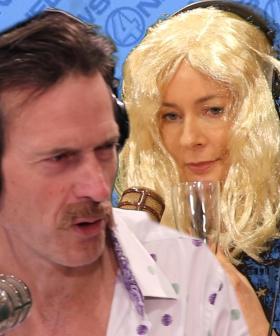 Jonesy & Amanda Star In 'Anchorman'