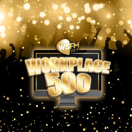 WSFM's Workplace 500 Ultimate Playlist