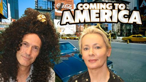 Jonesy & Amanda Star In 'Coming To America'