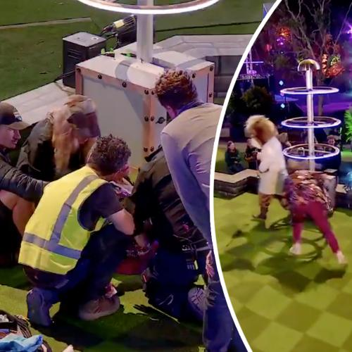 Denise Drysdale Hospitalised After Insane Electrocution Challenge On Holey Moley