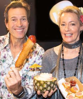 Jonesy & Amanda Taste The BRAND NEW Food Available At The Easter Show!
