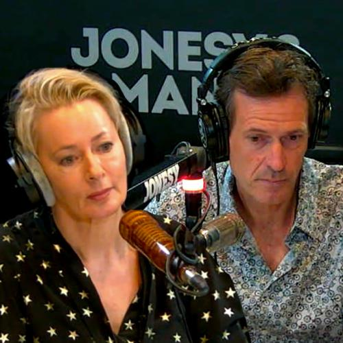 Jonesy & Amanda Pay Tribute To The Late And Great Michael Gudinski