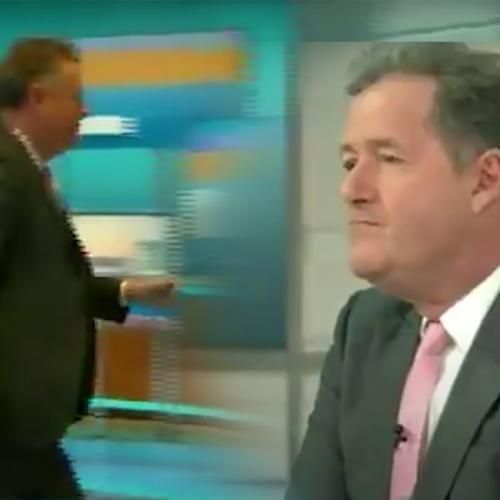 Piers Morgan Quits 'Good Morning Britain' After Storming Off Set