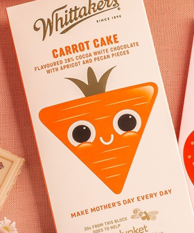 Whittaker's Are Cooking Up A New Carrot Cake Chocolate Block