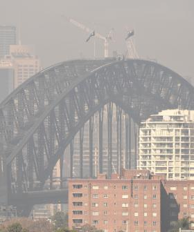 Residents Warned Of Poor Air Quality As Heavy Smoke Blankets Sydney