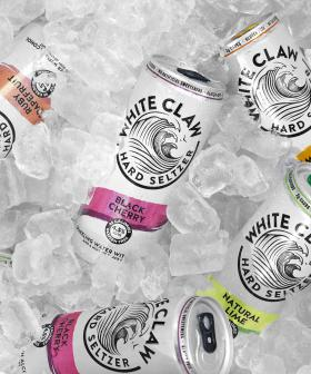 White Claw Has Released Their Famous Black Cherry Flavoured Seltzer