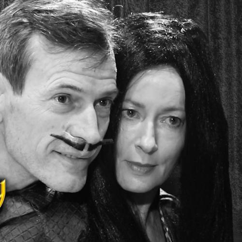 Jonesy & Amanda Star In 'The Addams Family'