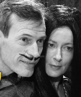 Jonesy & Amanda Star In 'The Addams Family'