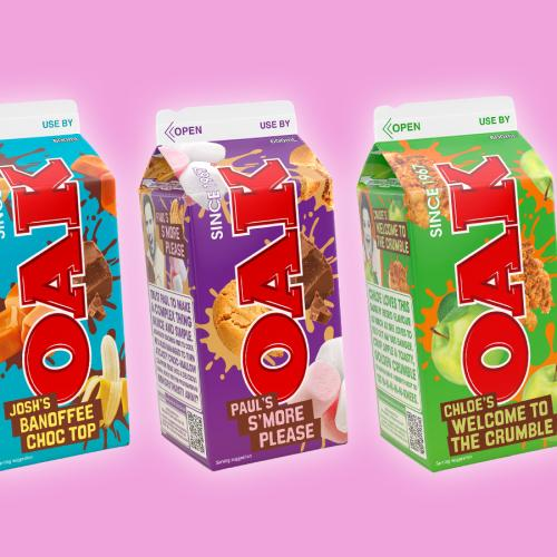 OAK Has Released THREE Brand New Flavours!