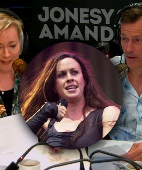 Alanis Morissette Teaches Jonesy & Amanda How To Pronounce Her Name