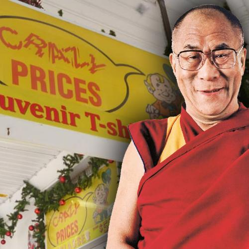 Woman Spotted The Dalai Lama At 'Crazy Prices' In This Small NSW Town!
