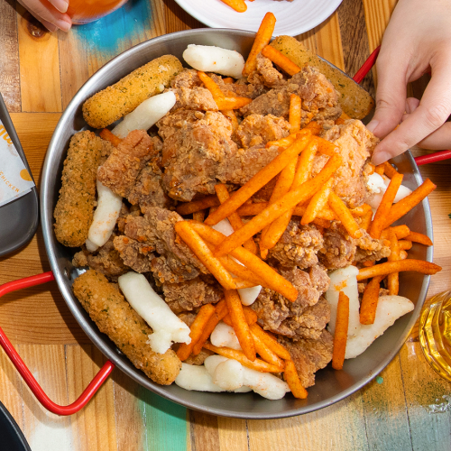 Gami Chicken & Beer Is Now Serving Up 1.2kg of Fried Chicken