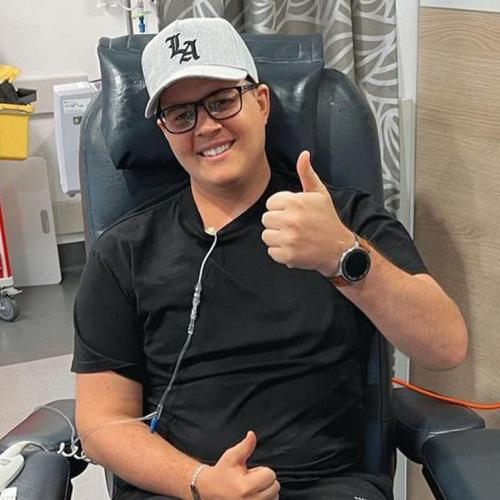 """""""Another Round Done!"""": Johnny Ruffo Updates Fans On His Second Battle With Brain Cancer"""