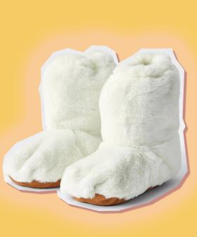 Target Is Now Selling MICROWAVABLE SLIPPERS!