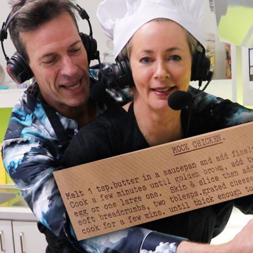 Amanda Keller Makes Us Her Mum's Famous 'Mock Chicken'