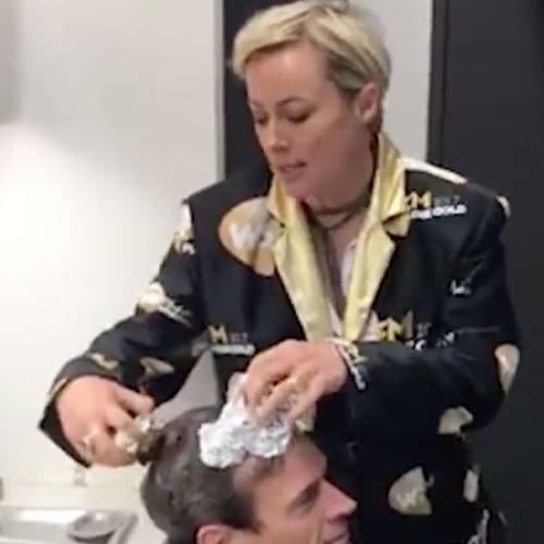 Amanda Keller Dyes Jonesy's Hair Using NUTELLA!