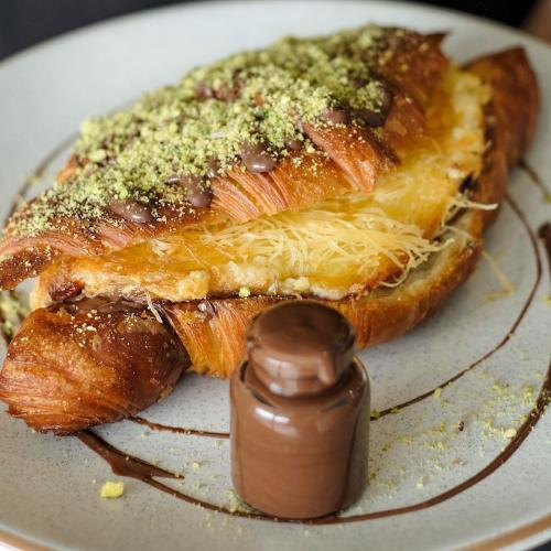 This Sydney Bakery Is Doing Heavenly Nutella Knefeh Croissants