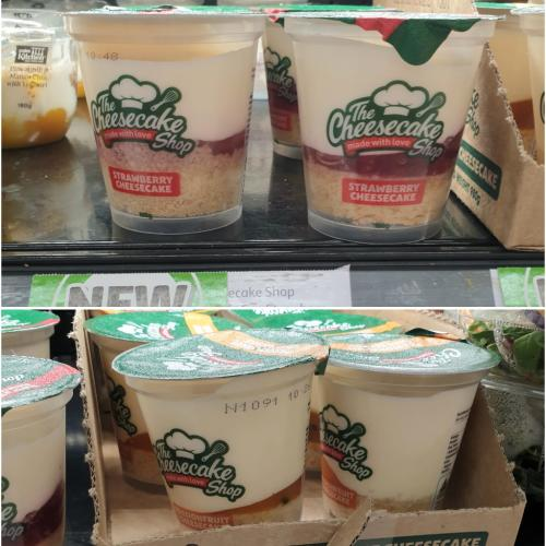 You Can Now Get 'The Cheesecake Shop' Cups At Coles!