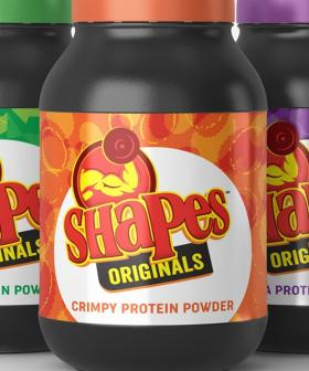 Did...Arnott's Just Announce Shapes-Flavoured Protein Powders?