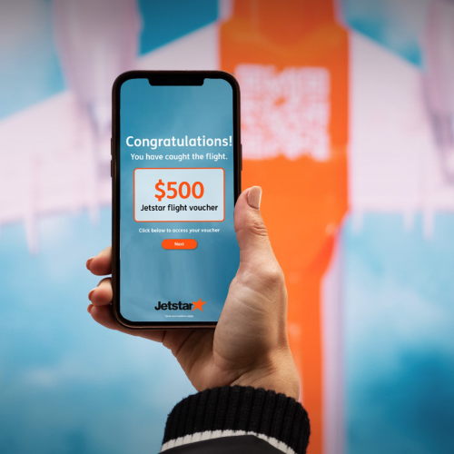 Jetstar Is Giving Out Free Flight Vouchers Today At This Sydney Train Station